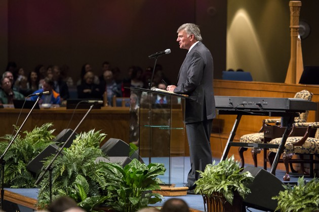 Franklin Graham at the Jacksonville Pastors' Conference