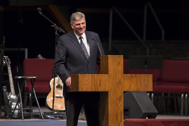 Photos: Franklin Graham Shares Powerful Message at Oklahoma Evangelism Conference