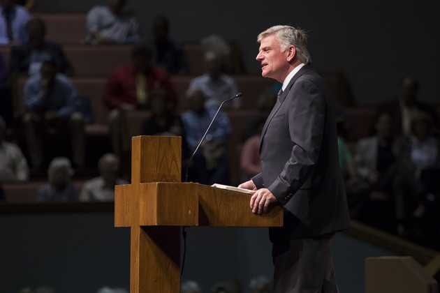 Franklin Graham: I'm Not Going to Run