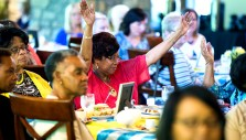 Hundreds Hear Message of God's Faithfulness at Ladies Tea and Tour