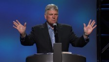 Franklin Graham Preaches the Gospel in the River City