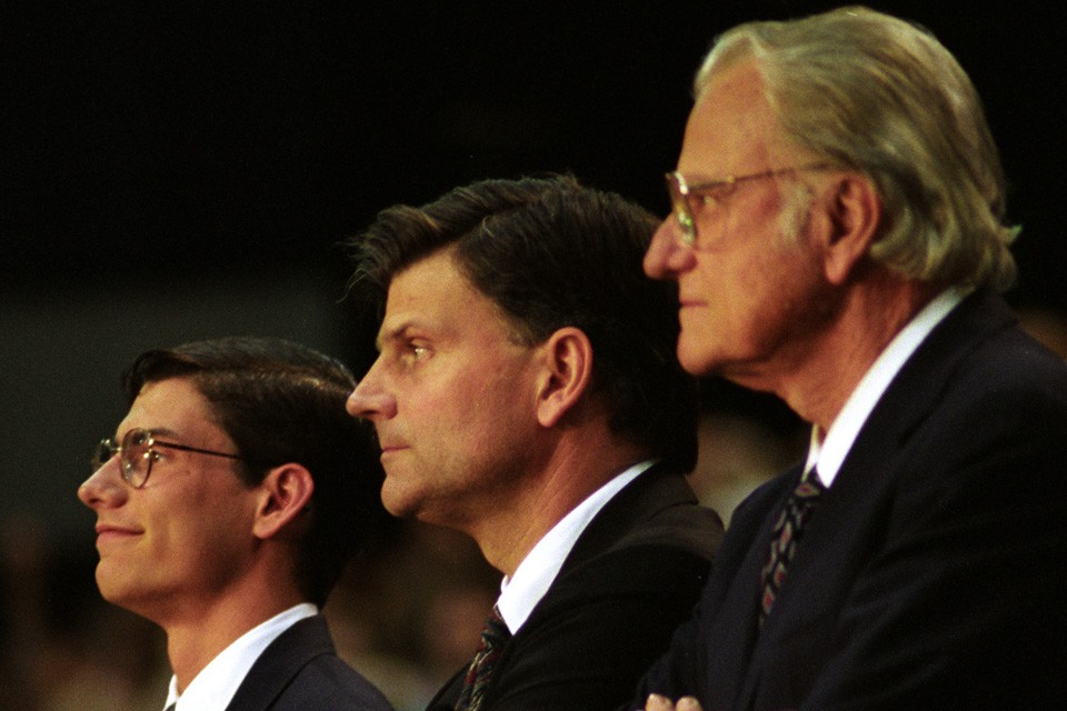 Will, Franklin and Billy Graham