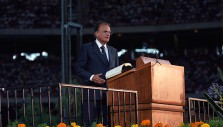 Watch Newly Discovered Billy Graham Crusade Footage