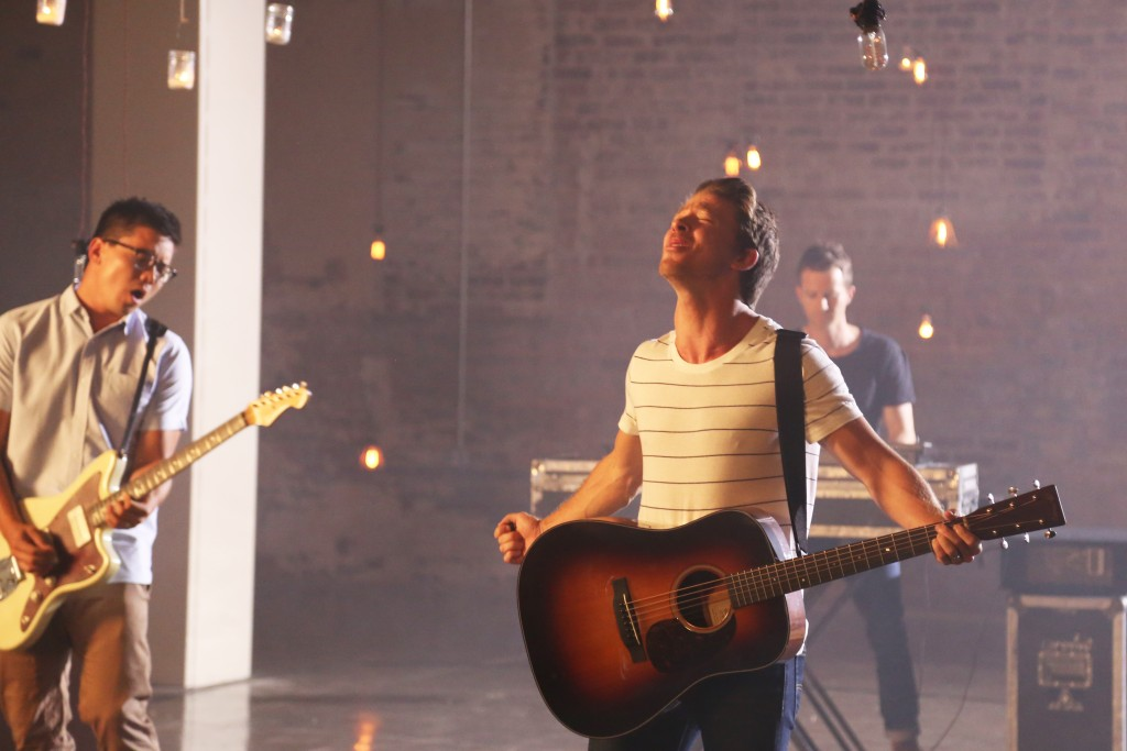 Tenth Avenue North video shoot