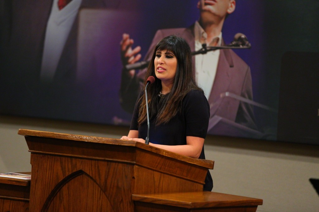 Naghmeh Abedini's story is featured over two episodes of 'GPS,' where she gives her testimony and discusses how God is using her husband, Saeed, who is imprisoned in Iran for his faith.