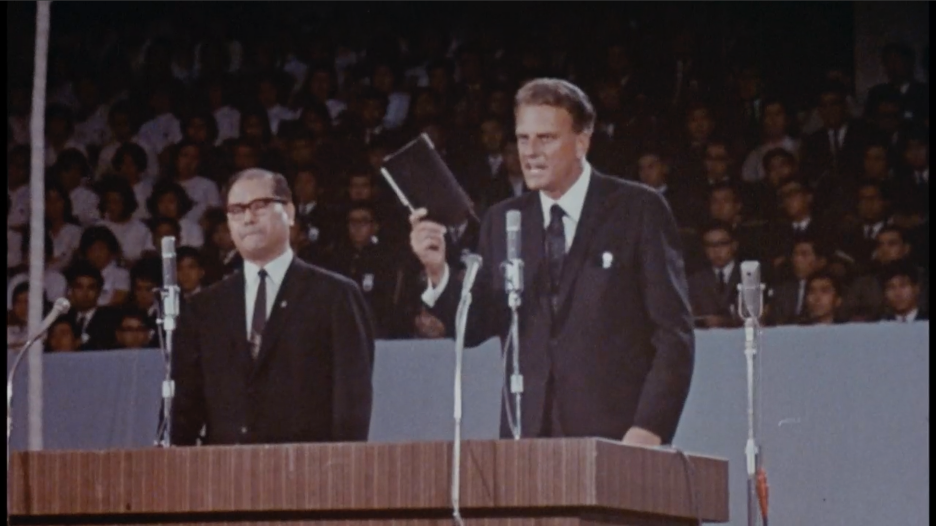Billy Graham In Tokyo It S Time To Decide