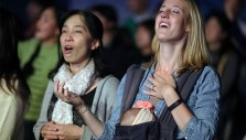 In Pictures: Day 1 of the Greater Tokyo Franklin Graham Celebration