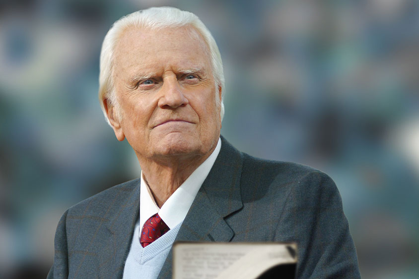 Image result for pic of billy graham