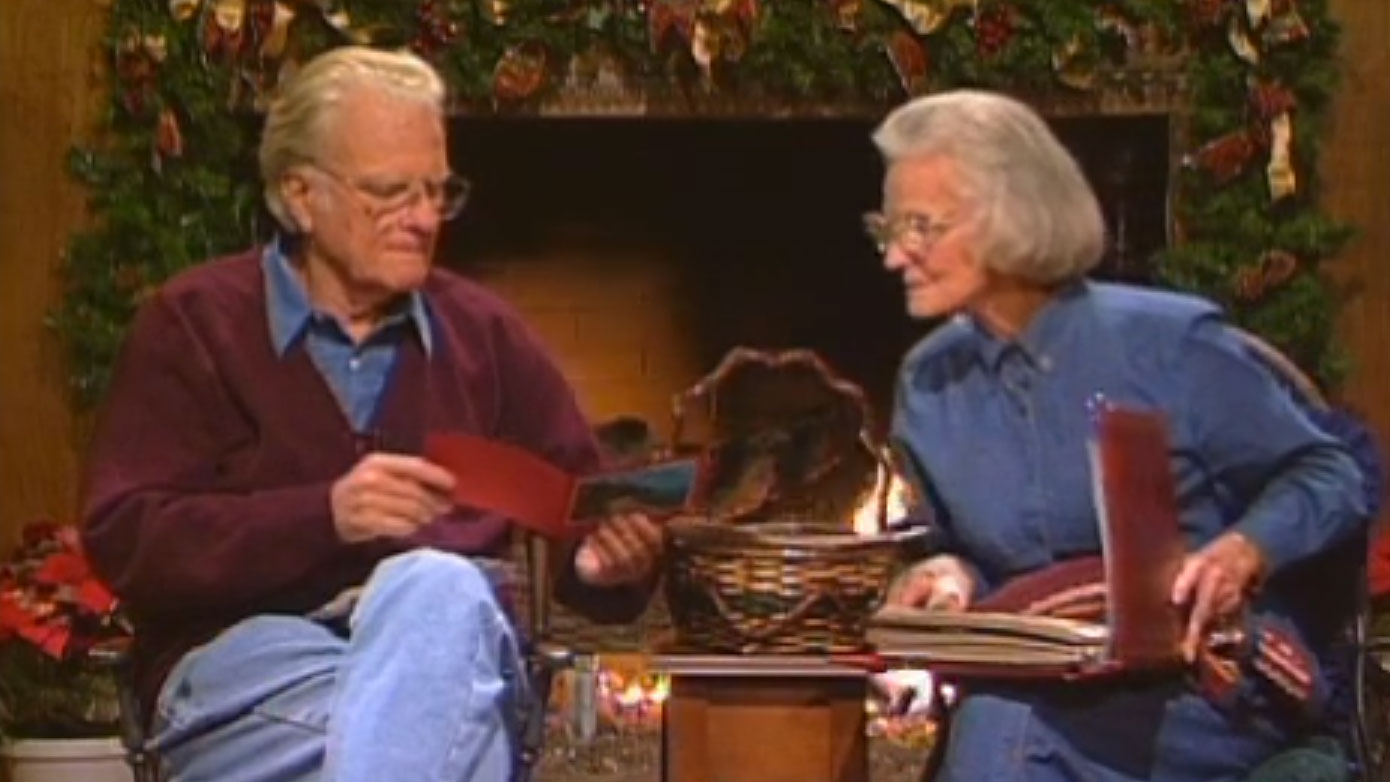 From The Archives 1953 And 1996 Billy Graham Christmas