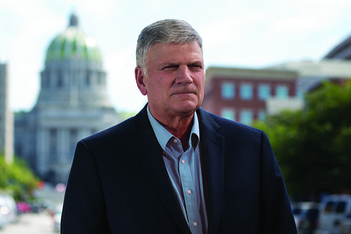 This year, Franklin Graham is heading to all 50 state capitals to urge people to put their faith in Christ. The Decision America Tour kicks of Jan. 5 in Des Moines, Iowa.