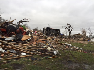 Garland Texas destruction
