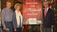 Library Welcomes 1 Millionth Guest to Journey of Faith Tour