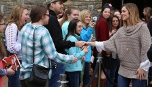 Sadie Robertson at the Billy Graham Library