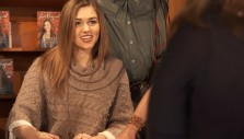 Sadie Robertson Book Signing at the Billy Graham Library