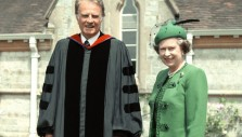 Billy Graham and the Queen: Memories as Her Majesty Turns 90