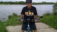 Passion for Evangelism Drives Iowa Pastor to Share <i>My Hope</i> on Bike Ride