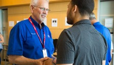 BGEA Chaplains Encourage UNT Dallas Staff, Students With Love of Christ
