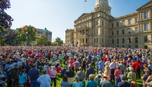 Thousands Rally in Michigan to Live Out Their Faith in Public