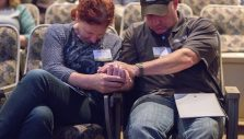 Officers, Spouses Draw Spiritual Refreshment From Law Enforcement Retreat