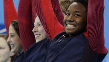 Swim to Him: Simone Manuel Reflects on Journey to Historic Gold