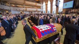 'His Final Crusade': Moments from the Cliff Barrows Memorial Service