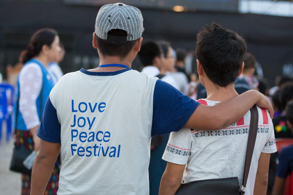 Hundreds of churches united together to help make the Festival a reality.
