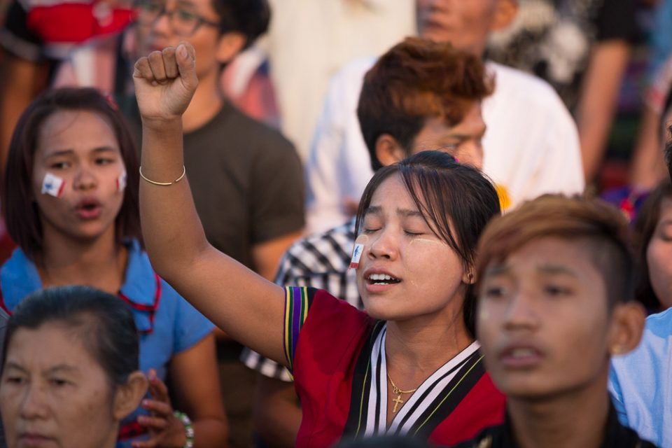 Myanmar churches are praising God for the tremendous response to the Yangon Love Joy Peace Festival with Franklin Graham. More than 170,000 people attended the 3-day event, with over 7,600 indicating decisions for Christ.