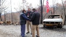 Chaplains Ministering to Gatlinburg Residents Impacted by Deadly Wildfires