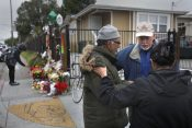 Chaplains Talk, Pray at Memorial Site After Oakland Warehouse Fire