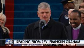 Franklin Graham Reads Scripture at 2017 Presidential Inauguration