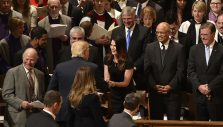 Cissie Graham Lynch Follows in Family Footsteps at Inaugural Prayer Service
