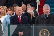 'It's My Prayer That God Will Bless You': Franklin Graham to President Donald Trump During Inaugural Ceremony