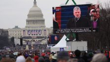 PHOTOS: Franklin Graham Reads from the Bible at Presidential Inauguration