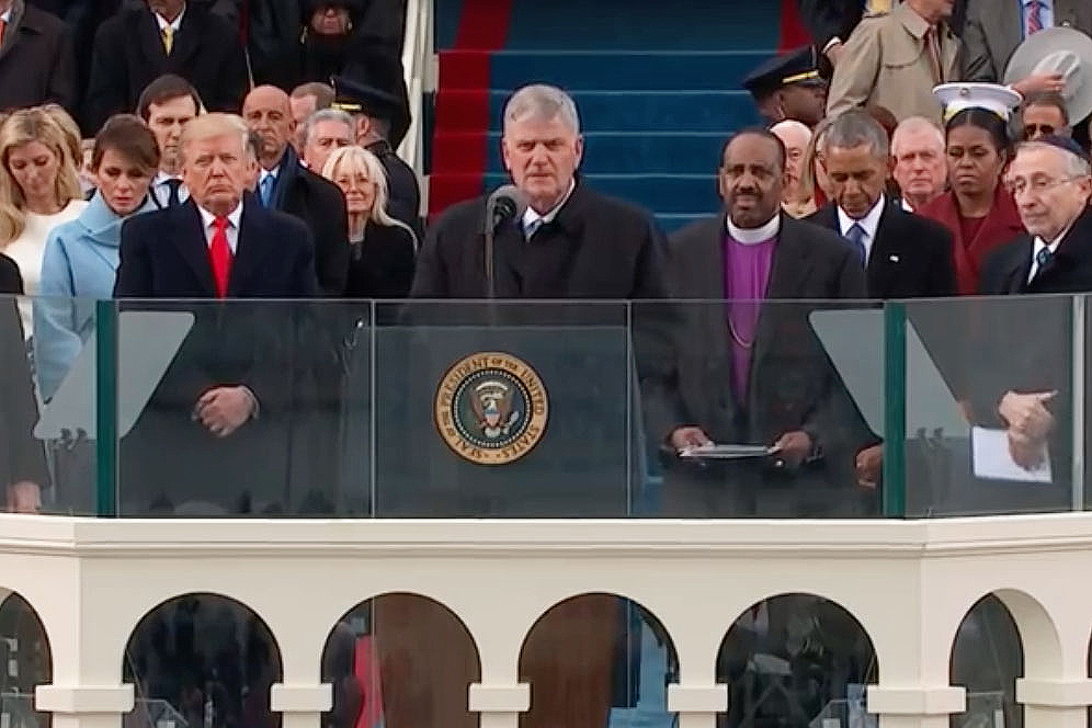 Franklin Graham at inauguation