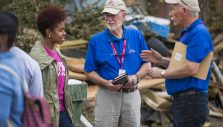 PHOTOS: Chaplains Sharing Love of Christ in New Orleans After Devastating Tornadoes