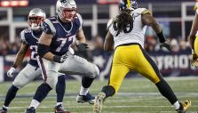 Brady, Belichick Notice Something Different About Patriots' LT Solder