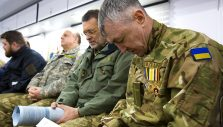 Ukrainian Chaplains Visit BGEA, Eager to Train with Rapid Response Team