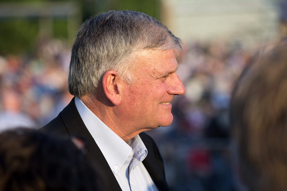 Franklin Graham smiling