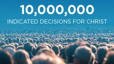 Online Ministry Celebrates 10 Million Indicated Decisions for Christ
