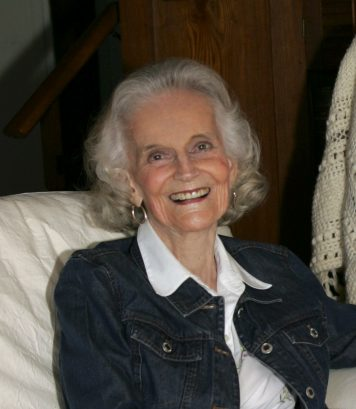 Ruth Bell Graham smiling