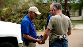 Rapid Response Team Chaplains Pray with Texas Residents