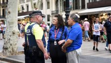 Chaplains in Barcelona Ministering to Police, Shopkeepers, Tourists After Terror Attack
