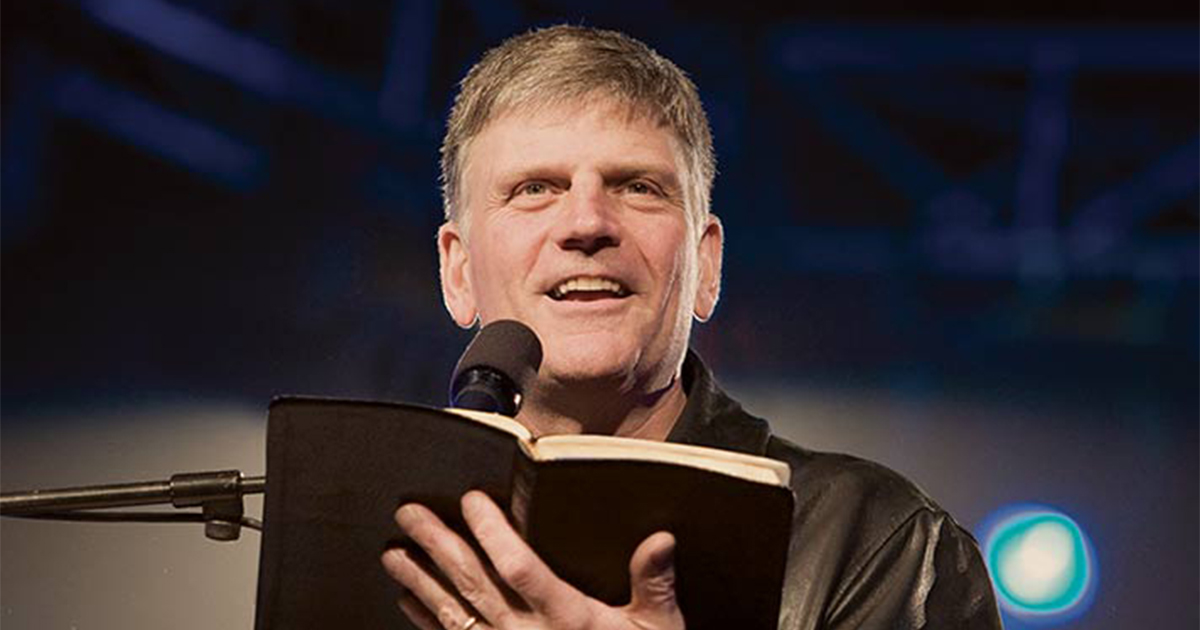 From Franklin Graham The Incredible Word Of God