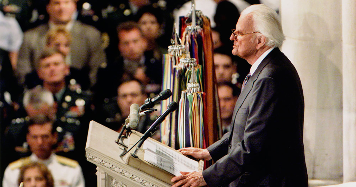 God Is Our Refuge A Look Back At Billy Graham S 9 11