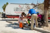 Struggling Floridians Receive Encouragement, Prayer from Chaplains