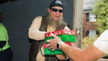 Photos: 10th Annual Bikers with Boxes Event at Billy Graham Library