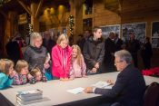 Eric Metaxas Visits During Christmas at the Billy Graham Library