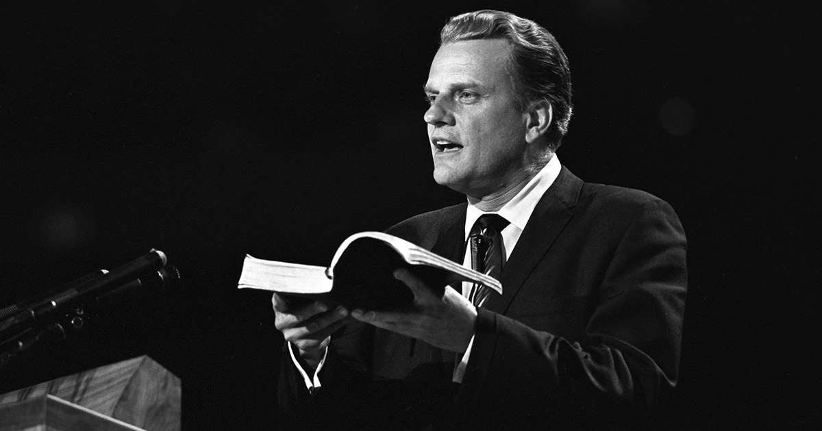 billy graham america s preacher 'the billy graham that the world saw in the big stadiums was the same billy graham that we saw at home there weren't two billy grahams'.