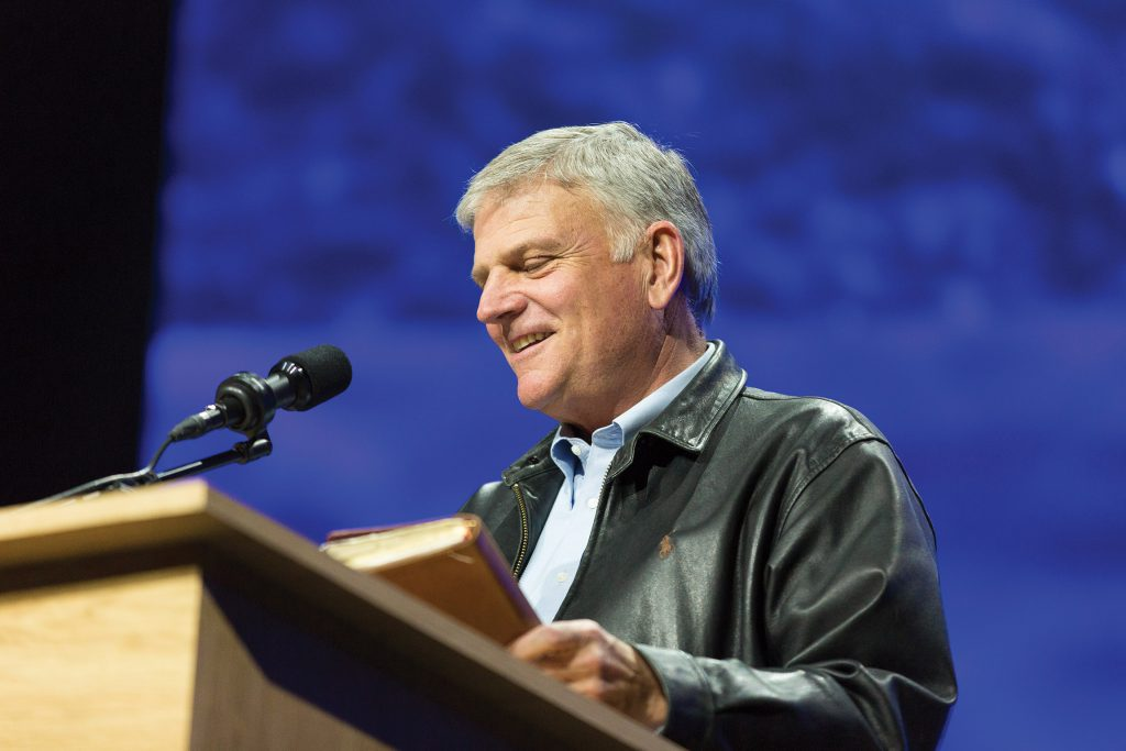 Franklin Graham in Oslo, Norway