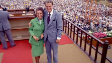 Billy's Graham's Historic Crusade in Seoul, South Korea